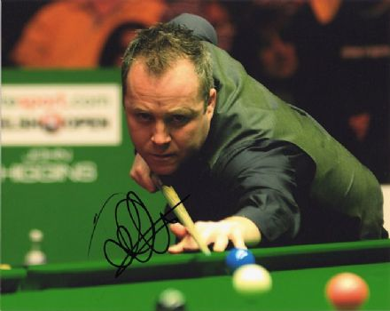 John Higgins, Scottish snooker player, signed 10x8 inch photo.